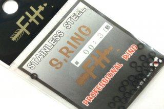 フィールドハンター スプリットリング S.RING ブラック #00