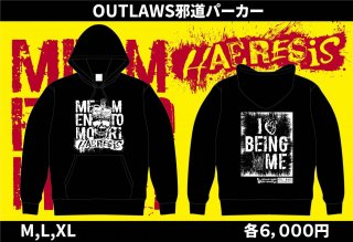 OUTLAWS邪道パーカー