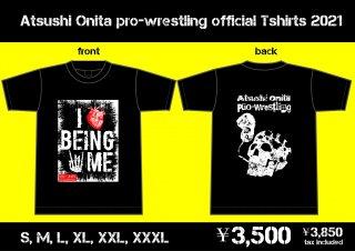 大仁田厚プロレスリングオフィシャルTシャツ2021