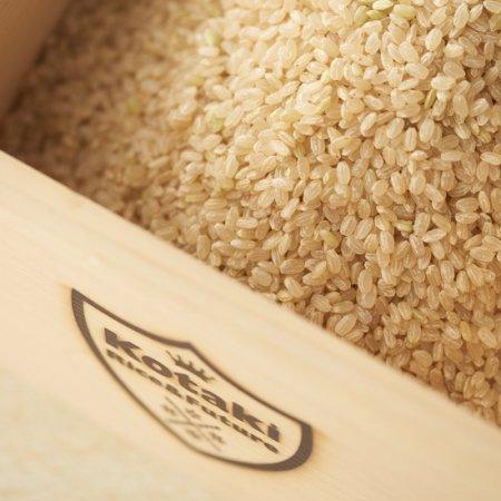 希少米コタキホワイト玄米 2kg袋