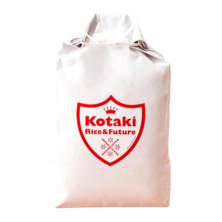 [送料無料] 希少米!コタキホワイト5kg 定期購入便 x 12回(特典付き)