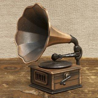 アンティークシャープナー 鉛筆けずり  レトロ  蓄音器