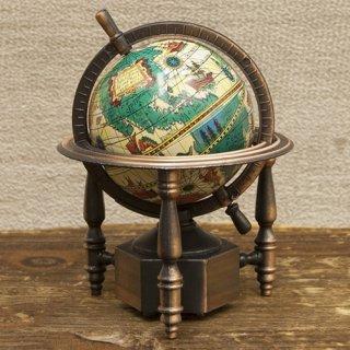 アンティークシャープナー 鉛筆けずり  レトロ  地球儀