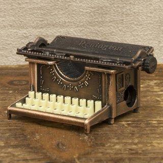 アンティークシャープナー 鉛筆けずり  レトロ  タイプライター