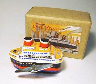 ブリキのおもちゃ ゼンマイ客船