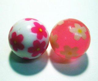 スーパーボール「桜」(2種セット)45mm