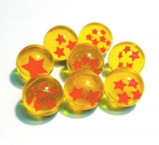 スーパーボール スター オレンジ 27mm(8種セット)