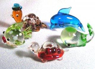 ガラス細工(動物)[6種セット]