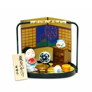 《夏物語》 昭和の夏 ミニチュア模型 懐かしの風景セット
