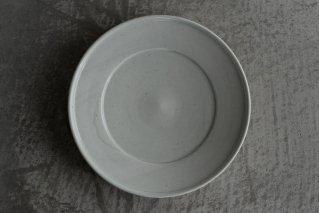 阿部春弥 白磁 8寸皿