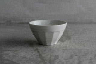 阿部春弥 白磁面取小鉢