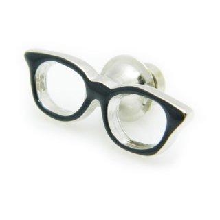 眼鏡のピンズ(黒)