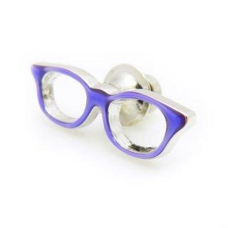 眼鏡のピンズ(紫)