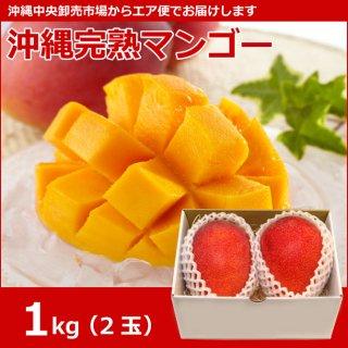 沖縄完熟マンゴー  1kg(2玉)
