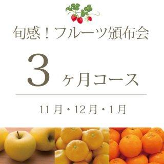 旬感!フルーツ頒布会3ヶ月コース(スタンダード) 11月・12月・1月