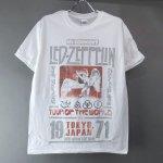 (M) レッドツェッペリン TOKYO 71 Tシャツ (新品) 【メール便可】