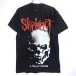 (M) スリップノット  Skull and Tribal Tシャツ(新品) オフィシャル【メール便可】