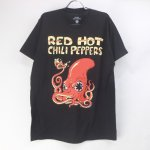 (L) レッドホットチリペッパーズ Fire Squid Tシャツ(新品) オフィシャル 【メール便可】