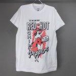 (M) レッドホットチリペッパーズ IN THE FLESH Tシャツ (新品) オフィシャル 【メール便可】