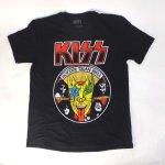 キッス Tシャツ KISS, HOTTER THAN HELL  (L)【メール便可】 新品