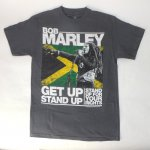 (M) ボブマーリー MARLEY GET UP STAND UP Tシャツ (新品) 【メール便可】