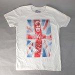 デヴィッドボウイ Tシャツ UNION JACK (M) (新品) 【メール便可】