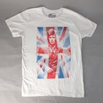 デヴィッドボウイ Tシャツ UNION JACK (L) (新品) 【メール便可】