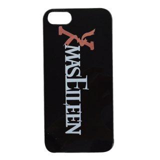 Xmas EileenバンドロゴiPhone 5/5S/SE ケース(BK)