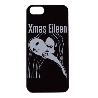 Xmas EileenガールロゴiPhone 5/5S/SE ケース(BK)