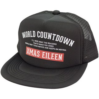 『WORLD COUNTDOWN』メッシュキャップ(BK)