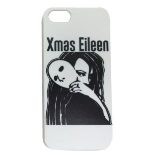 Xmas EileenガールロゴiPhone 5/5S/SE ケース(WH)