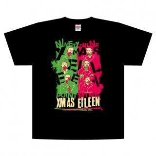 99.9ツアーTシャツ(緑ピンク)