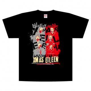 99.9ツアーTシャツ(赤グレー)