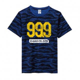 99.9迷彩Tシャツ(ネイビー)