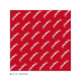 リボンロゴバンダナ(赤)