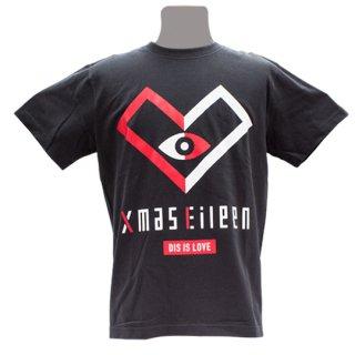 DIS IS LOVE EYE Tシャツ(黒)