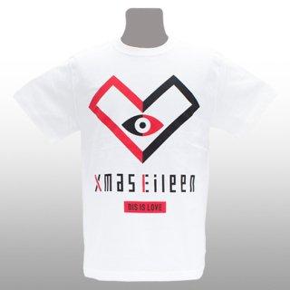 DIS IS LOVE EYE Tシャツ(白)