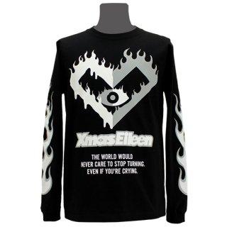 XE2019 ファイヤー ロングTシャツ(ブラック・ 白灰)<br>【XE S/S2019】