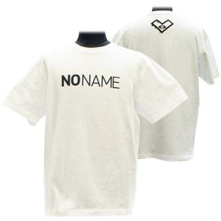 XE2019 NO NAME Tシャツ バックプリント(ホワイト)<br>【N/N】