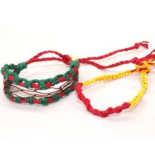 石巻へい輪プロジェクト 漁網ミサンガ 「櫂」