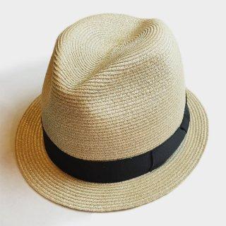 SHORT BRIM LINEN HAT