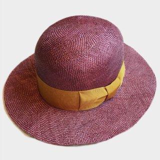 QING RAMIE BOWLER HAT