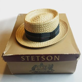 LATE 50's STRAW HAT (BOX)