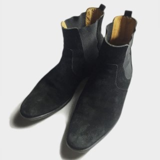SUEDE SIDE GORE BOOTS (26.5CM)