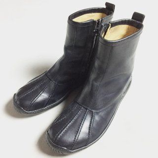 LEATHER ZIP UP BOOTS(25.5CM)