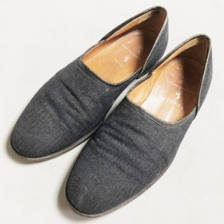 DENIM FLAT SHOES(ITALY-26CM)