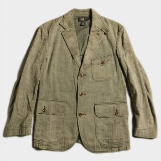 HERRINGBONE TAILORED JKT(M)