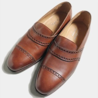 PUNCHED LOAFER(PURPLE.L-25.5CM)