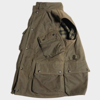 WAXED C. HUNTING VEST(M)