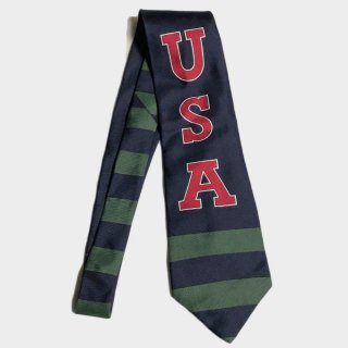 USA SILK TIE(USA)